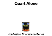 KonFusion Chameleon Color Changing Paint Basecoat Quarts